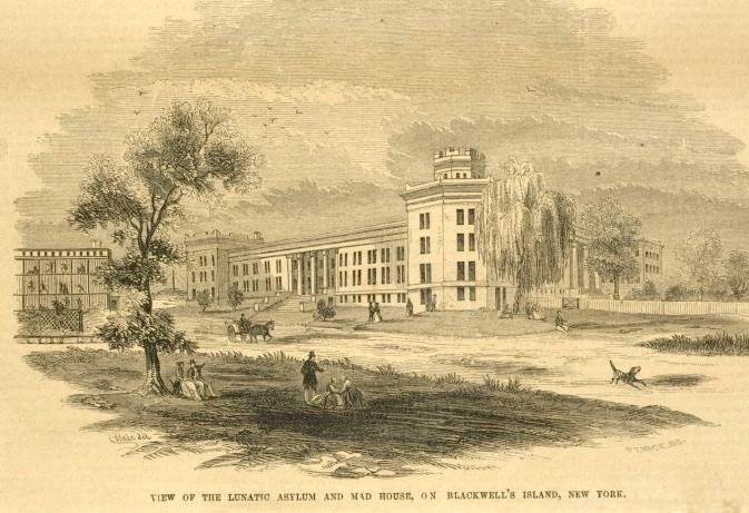 Lunatic Asylum, Blackwell's Island