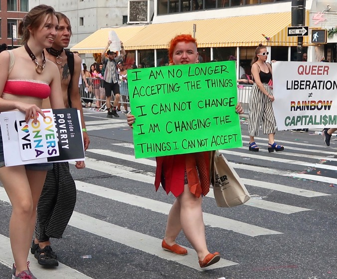 NYC Gay Pride Parade, 2018