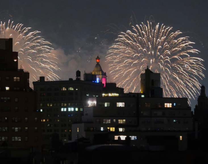 Fourth of July Fireworks, New York City, 2018