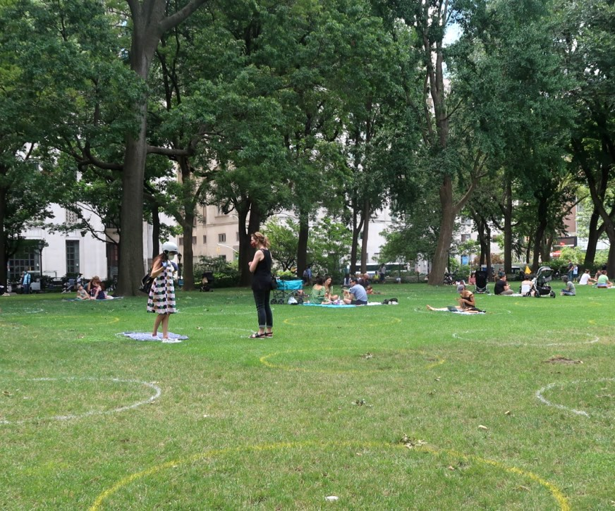 Social Distancing New York City