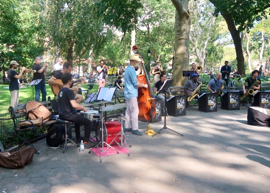 Washington Square Park, New York City, 2020