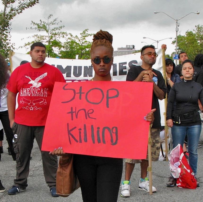 Eric Garner Protest 2014