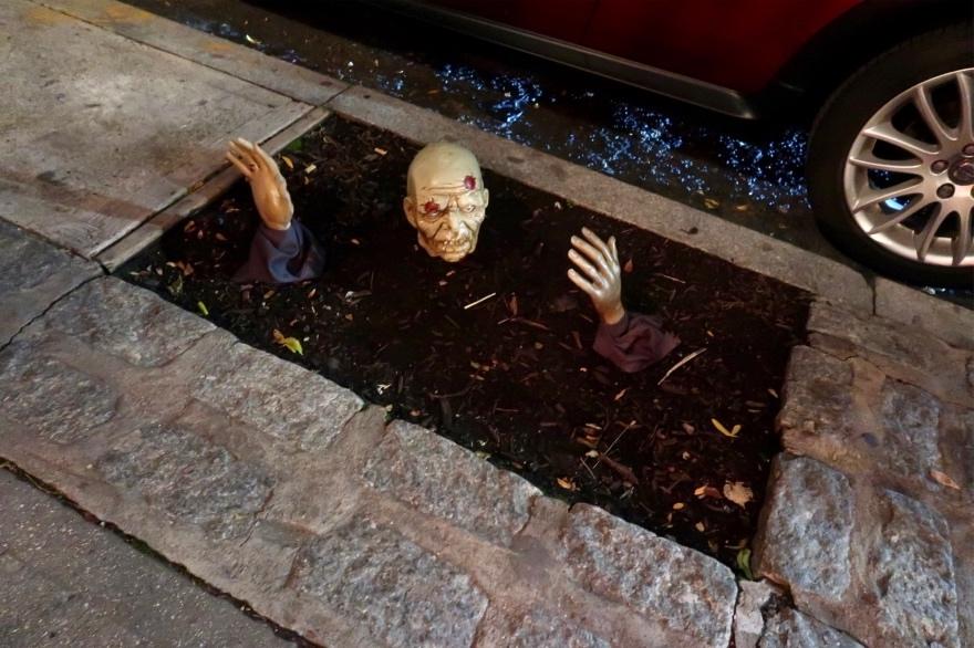 Halloween, New York City, 2020