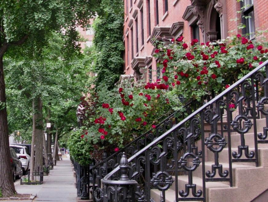 St. Luke's Place, Greenwich Village, New York City