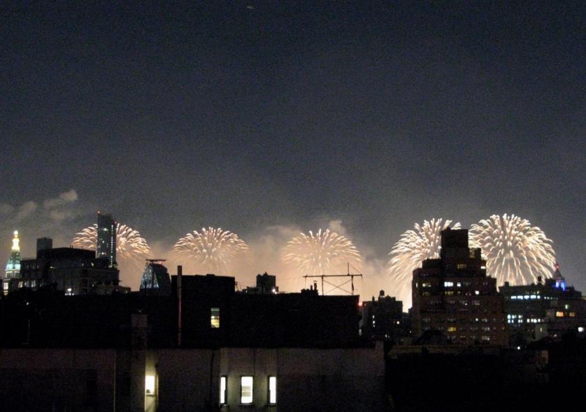 Fireworks, New York City, 2021