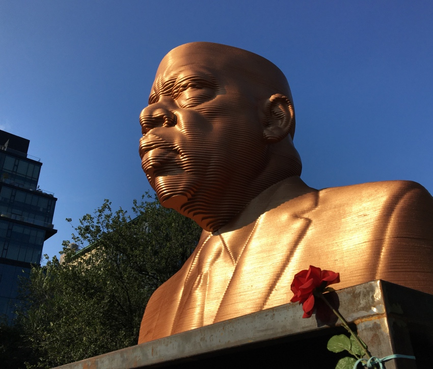 John Lewis Statue, Union Square, New York City